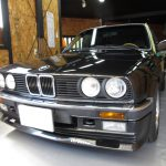 BMW325iメッキモール磨き施工例