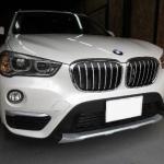 BMWX1デントリペア施工例
