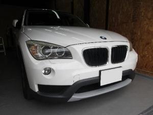 BMWX1ウインドリペア