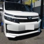 トヨタヴォクシーのヘコミ修理