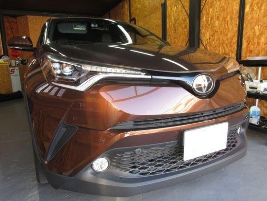 トヨタC-HRのウインドリペア