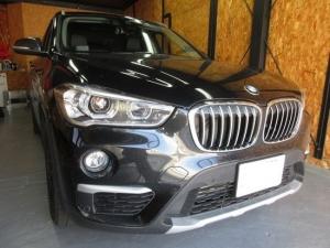 BMWX1フロントガラスにリペア