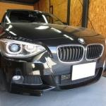 BMW116iデントリペア依頼